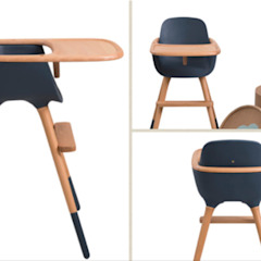 Wooden baby feeding chair SG International Trade Habitaciones infantilesEscritorios y sillas