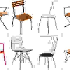 Metal chairs and stools SG International Trade Balcones y terrazasMobiliario