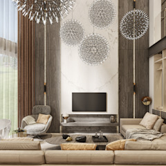 WALL INTERIOR DESIGN Modern living room