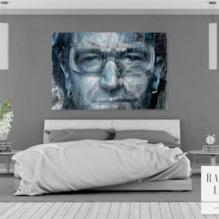 RAQUEL LIMA ART ArtworkPictures & paintings Cotton Blue