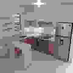 JAV_ARQUITECTOS KitchenBench tops Granite White