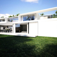 Beton House Maisons minimalistes