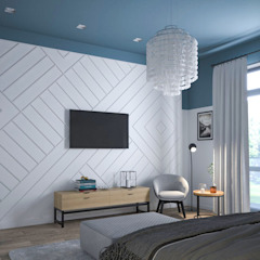 Scandinavian style bedroom by Альберт Галимов Scandinavian