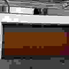 Cattani Portões Garage Doors Iron/Steel Wood effect