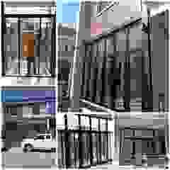 ร้าน ชัยดล ยูพีวีซี พัทยา ประตู - หน้าต่าง upvc Windows & doors Doors Plastic Black