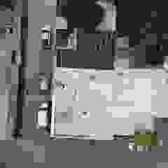 KB Solar Negozi & Locali commerciali moderni Alluminio / Zinco Grigio
