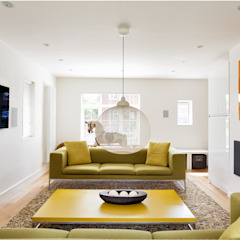 House Renovation and Extension Tenterden Kent STUDIO 9010 Modern Living Room Multicolored
