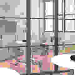 OrBiTa - Architettura oltre lo spazio Oficinas y bibliotecas de estilo moderno