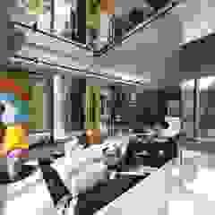 Model House Modern Living Room by John Chan Design Ltd Modern