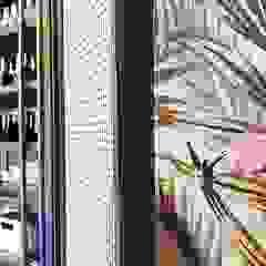Hypestudio Tropical style walls & floors Wood Green