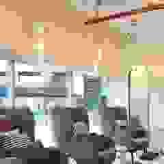 Hypestudio Tropical style walls & floors Glass Grey