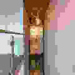 Aangenaam Interieuradvies Espaces de bureaux modernes Ambre/Or