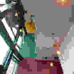 Aangenaam Interieuradvies Espaces de bureaux modernes Multicolore