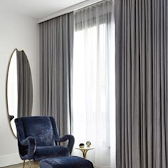 Persianas en Guadalajara Gdl Modern living room Grey