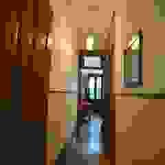 MJARC - Arquitetos Associados, lda Rustic style corridor, hallway & stairs