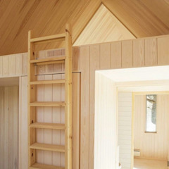 Green Living Ltd Modern Corridor, Hallway and Staircase Solid Wood