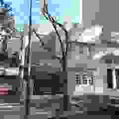 Casa Cuba - Fachada 01 D4-Arquitectos Casas unifamiliares Piedra Beige