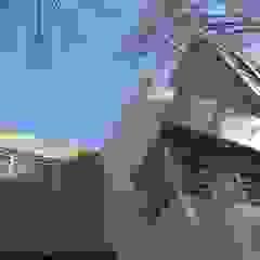 Casa Cuba - Detalle Fachada D4-Arquitectos Casas unifamiliares Piedra Beige