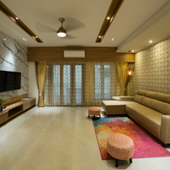 Living rooms interiors Offcentered Architects Modern Living Room