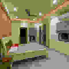 Master bedroom design Offcentered Architects Modern Bedroom