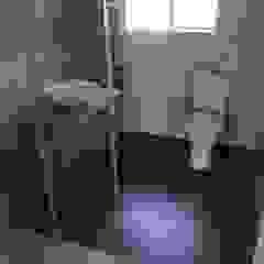 Single Guest Handbasin Afrisom Projects Pty Ltd Modern style bathrooms