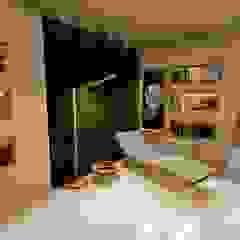 Aida tropeano& Asociados Modern Living Room Plywood Beige