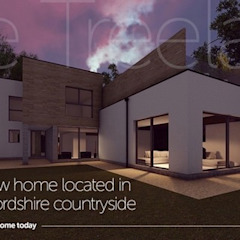 A stunning new home located in the idyllic Oxfordshire countryside Abodde Luxury Homes Modern houses