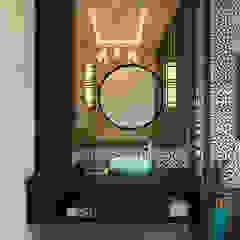 Pavilion Hilltop, Indochine Style Norm designhaus Asian style bathroom Beige