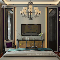 Pavilion Hilltop, Indochine Style Norm designhaus Asian style bedroom