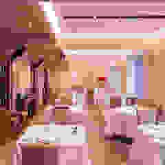 Proyecto de iluminación de interior y exterior para restaurante en Elantxobe Spazio Vbobilbao Gastronomía de estilo ecléctico