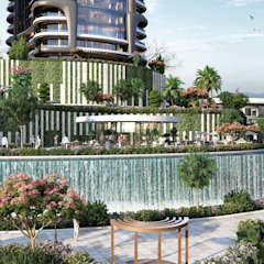 Meva Anadolu Zeray İnşaat A.Ş. Garden Pond