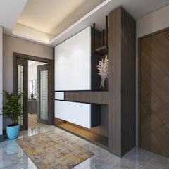 Meva Anadolu Zeray İnşaat A.Ş. Modern Corridor, Hallway and Staircase