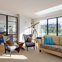 Private Residence, Cambridge Clement Windows Group Modern Windows and Doors Iron/Steel