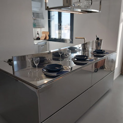 Quimera Renovacion SL Industrial style kitchen