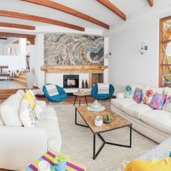 Planells Eclectic style living room