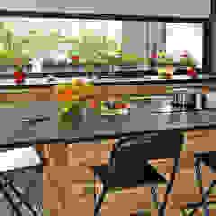jjdelgado arquitectura Minimalist kitchen