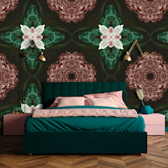 La Aurelia Walls & flooringWallpaper Green
