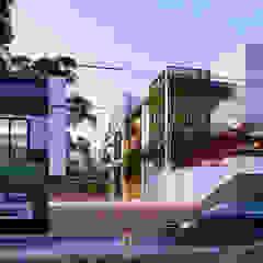 Rancang Reka Ruang Casas unifamilares Gris