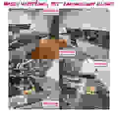 Merkam - Łódź ul. Św. Jerzego 9 KitchenBench tops Batu Brown
