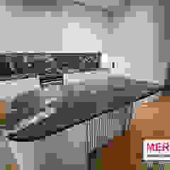Merkam - Łódź ul. Św. Jerzego 9 KitchenBench tops Batu Red