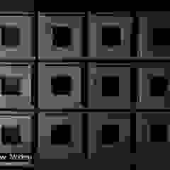 株式会社 虔山 Balcones y terrazasDecoración y accesorios Azulejos Negro