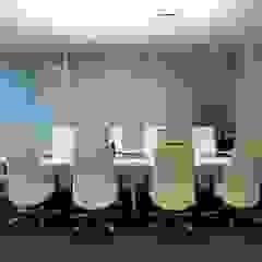 Spazhio Croce Interiores Ruang Studi/Kantor Gaya Kolonial Besi/Baja White