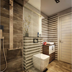 Bathroom designs Premdas Krishna BathroomDecoration Wood Wood effect