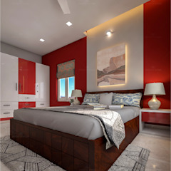 Bedroom Designs Premdas Krishna BedroomAccessories & decoration Wood Wood effect