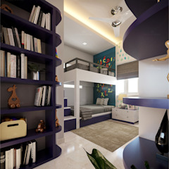 Kids Bedroom design Premdas Krishna Nursery/kid's roomAccessories & decoration Wood Wood effect