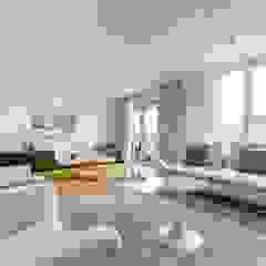 Münchner home staging Agentur GESCHKA Living room White
