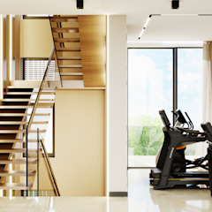 Студия дизайна ROMANIUK DESIGN Stairs