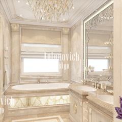 MOST LUXURIOUS BATHROOM INTERIOR DESIGN BY LUXURY ANTONOVICH DESIGN Luxury Antonovich Design Classic style bedroom