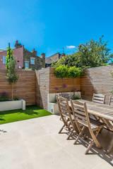 Rear Garden:  Terrace by CATO creative