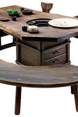 焼桐天然無垢囲炉裏テーブル: 桐里工房が手掛けたです。